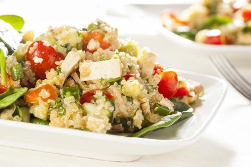 biberli tofu salata