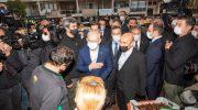 Kılıçdaroğlu İzmir'de sel mağdurlarını ziyaret etti