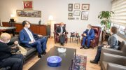 Moskova Hükümet Bakanı Cheremin'den Soyer'e ziyaret