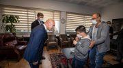 Başkan Soyer kusursuz kulağa sahip Bager'i ağırladı