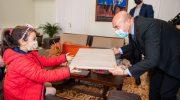 Japonya'dan ödülle dönen Lara'dan Başkan Soyer'e ziyaret