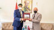 Bangladeş Büyükelçisi'nden Başkan Soyer'e ziyaret