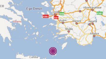 Ege'de depremler sürüyor…