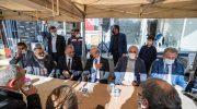 Başkan Soyer'den şehit ailesine taziye ziyareti