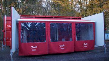 Danfoss'un Mobil CO₂ Eğitim Konteyneri İzmir'de