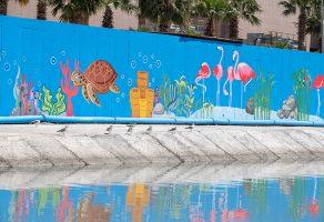 Ege Perla'dan İzmir'i Renklendiren Mural Çalışma