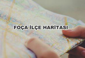 Foça (İzmir) İlçe Haritası