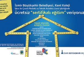 İzmir Büyükşehir Belediyesi Meslek Edindirme ve Beceri Kursları'nda yeni dönem kayıtları başladı