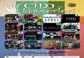 İzmir Çim Konserleri 2019