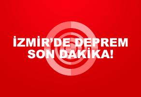İzmir'de deprem mi oldu?