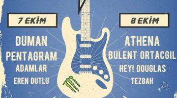 İzmir'de Rock günleri başlıyor!