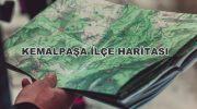 İzmir Kemalpaşa İlçe Haritası