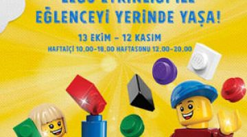 LEGO'nun renkli dünyası İzmir'de