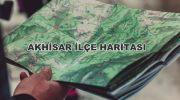 Manisa Akhisar İlçe Haritası