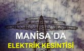 Manisa'da Elektrik Kesintisi