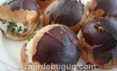 Maydanozlu Peynirli Minik Sandviç ( Sakallı Poğaça ) Tarifi