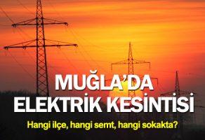 Muğla'da Elektrik Kesintisi