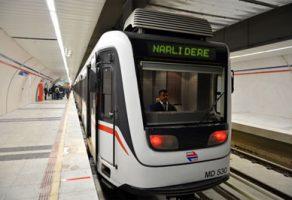 """Narlıdere metrosu için """"ikinci adım"""" da tamam"""