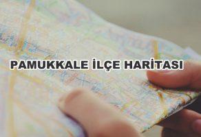 Pamukkale İlçe Haritası