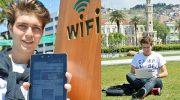 """İzmir'in 8 noktasında """"ücretsiz internet keyfi"""" başladı"""